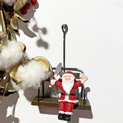 Decorazione Babbo Natale su...